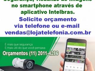 Instalação de Câmeras de Segurança - Autorizada Intelbras