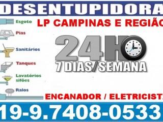 Desentupimento de Esgoto 97408-0533 Desentupidora No Vila Padre Anchieta em Campinas