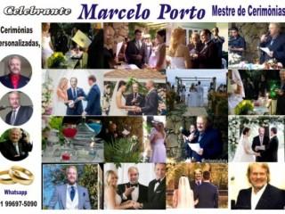 CELEBRANTE de Casamentos - Marcelo Porto - 011996975090 - watshapp
