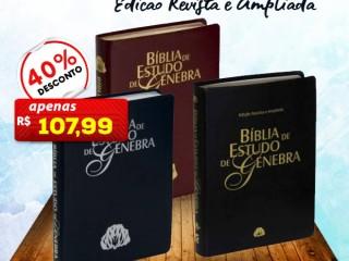 Bíblia de estudo Genebra em Oferta