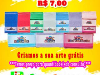 Toalhinha Personalizada em Jacarepaguá