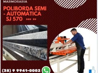 Poliborda Acabamento em Granito e Mármore Semi - Automática,Relevo