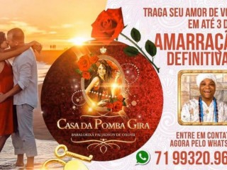 Amarração amorosa Salvador,Bahia consultas on-line