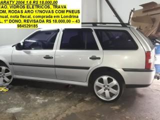 PARATY 2004 1.6 R$ 18.000,00