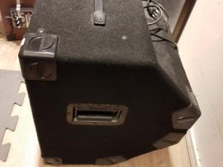 Cubo Amplificador De Baixo Gk Backline 115 Com Falante Hartke