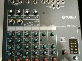 Mesa De Som Mg 102 C Yamaha Analógica