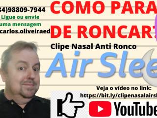 Clipe Nasal Anti Ronco Air Sleep