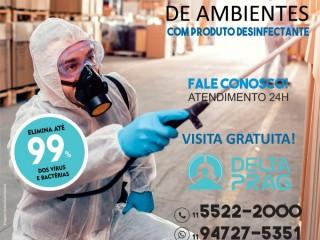 Sanitização de Ambientes em São Paulo