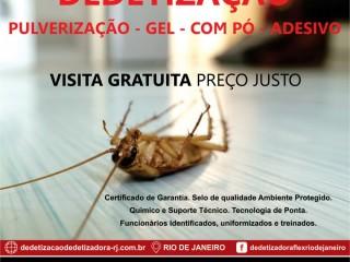 Dedetizadora no Rio de Janeiro - Dedetização sem cheiro