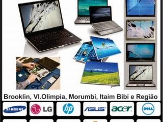 Assistencia tecnica Dell, HP e Lenovo - Brooklin, Itaim, Vila Olimpia, Morumbi, Moema e Campo Belo