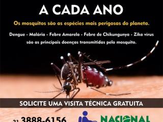 Nacional dedetizadora de Mosquitos