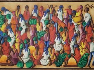 Lindas Pinturas Haitianas Originais