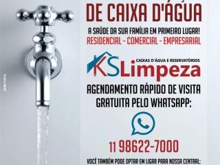Impermeabilização e limpeza de caixa d'água em Condomínios