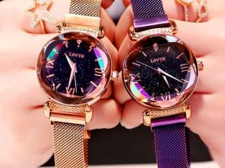 Relógio feminino Sky céu estrelado