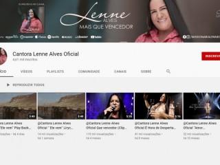 Canal da cantora Lenne Alves - Oficial