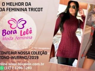 Tricot Moda Feminina Bora Lelê