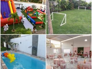 SALÃO DE FESTAS - ESPAÇO LUAR DA PRATA 97226-8103 CAMPO GRANDE RIO DE JANEIROES