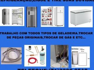 Conserto de geladeira em geral