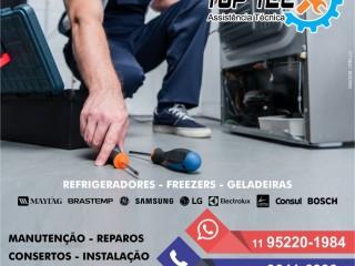 Manutenção e instalação de refrigeradores