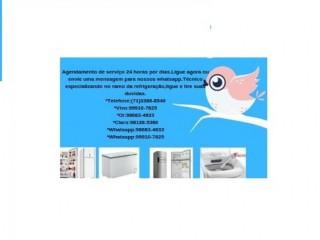 Freezer,Bebedouro,Geladeira e Máquina de lavar conserto