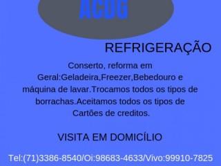 Técnico especializando no ramo da refrigeração