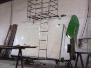 Caldeira 1.500 kg Lenha